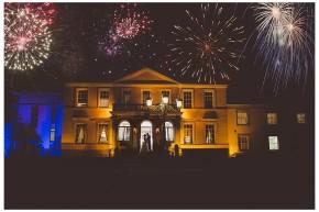 firework wedding